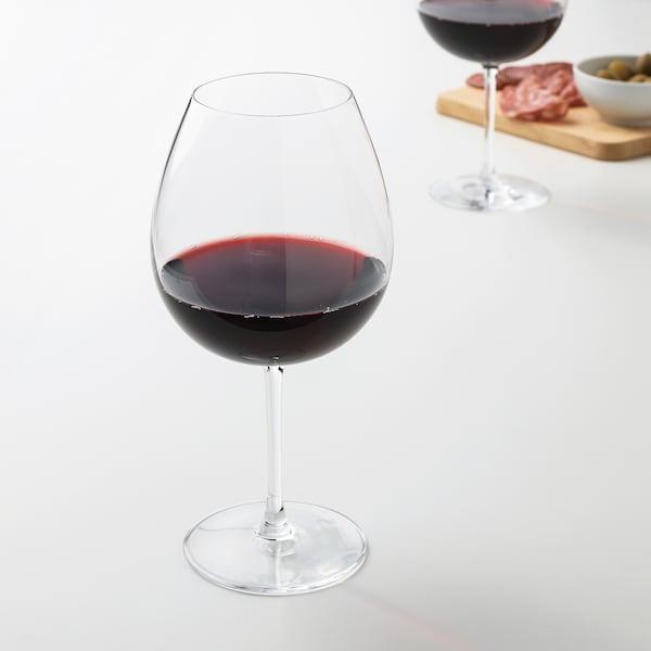 STORSINT Sklenka na červené víno, čiré sklo, 67 cl