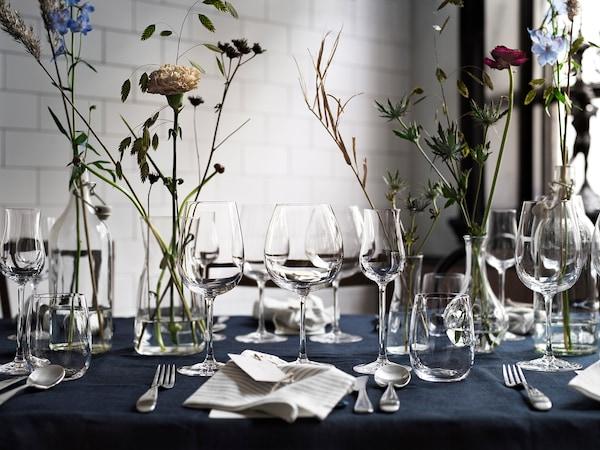 STORSINT Sklenka na červené víno, čiré sklo, 68 cl