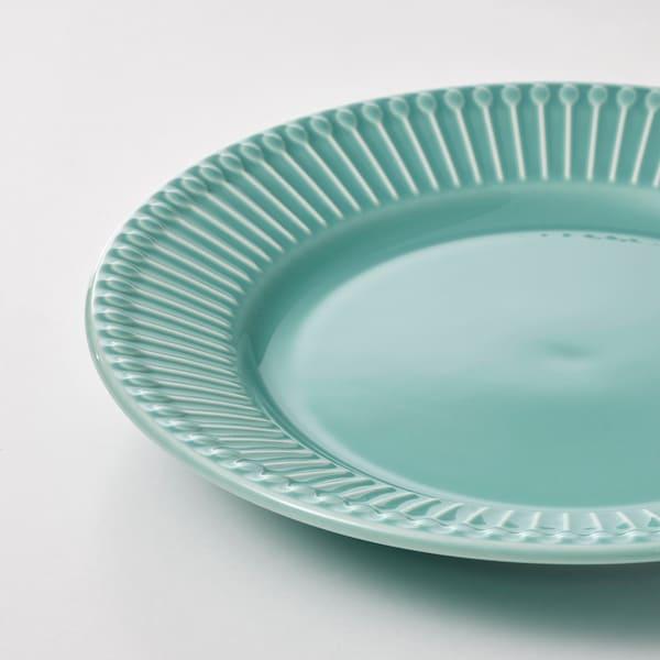 STRIMMIG Dezertní talíř, tyrkysová, 21 cm