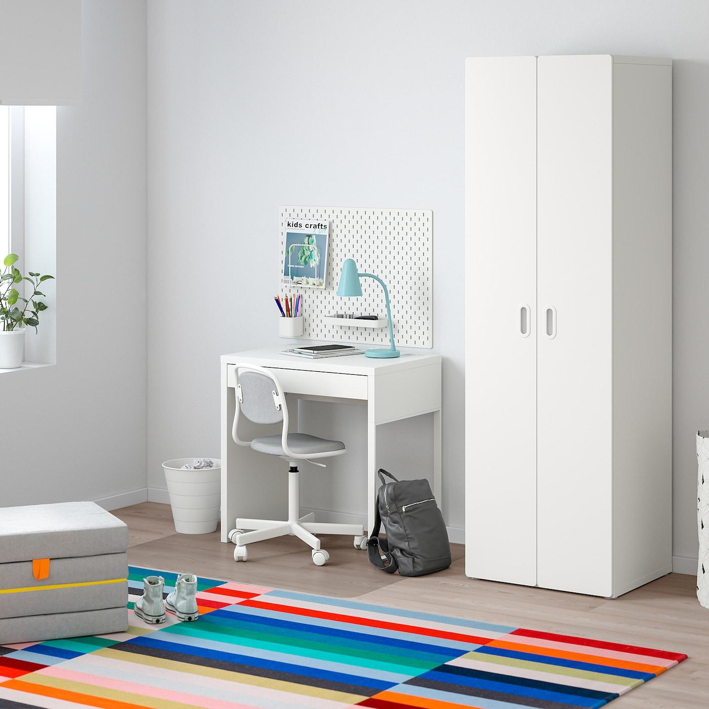 STUVA / FRITIDS šatní skříň bílá/bílá 60 cm 50 cm 192 cm