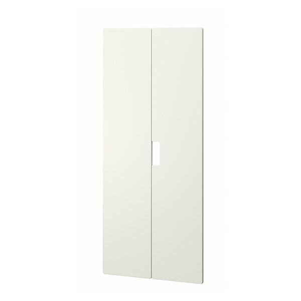 STUVA MÅLAD dveře bílá 60.0 cm 128 cm 2 ks