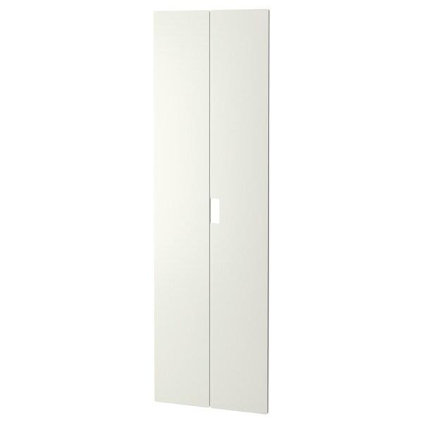 STUVA MÅLAD dveře bílá 60.0 cm 192 cm 2 ks