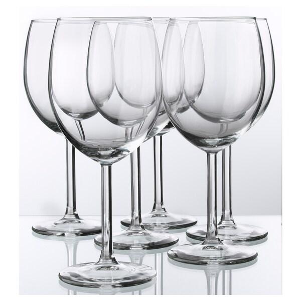 SVALKA Sklenka na víno, čiré sklo, 30 cl