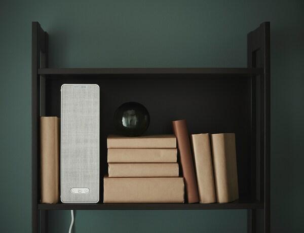 SYMFONISK Policový reproduktor s WiFi, bílá