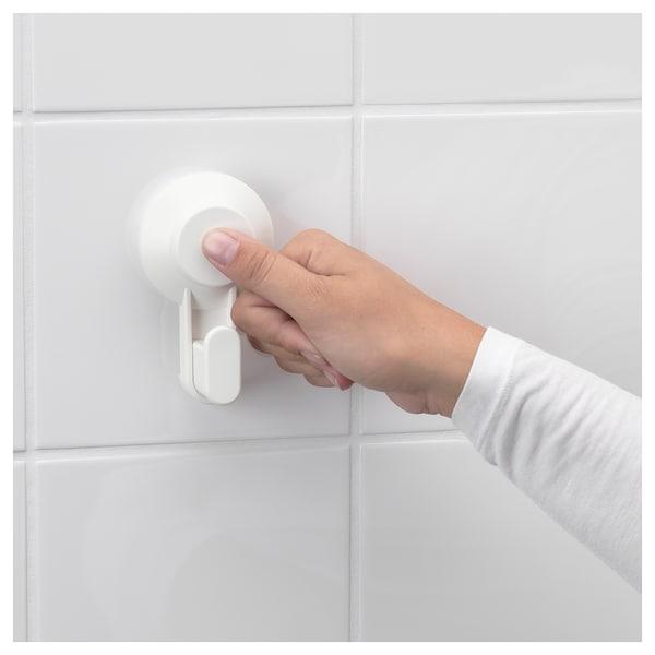 TISKEN Držák toal. papíru s přísavkou, bílá