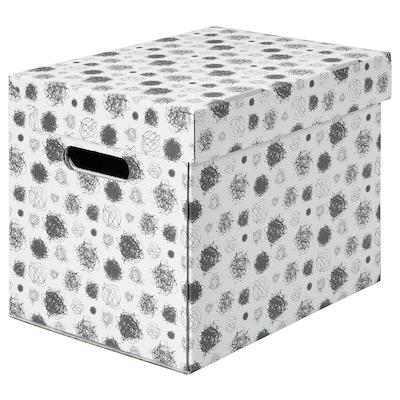 TITTAR Krabice s víkem, 25x34x26 cm