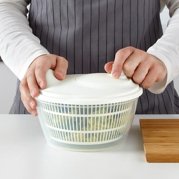 TOKIG Odstředivka na salát, bílá