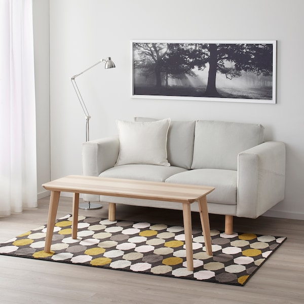 TORRILD koberec, nízký vlas barevné 195 cm 133 cm 11 mm 2.59 m² 2050 g/m² 620 g/m² 8 mm