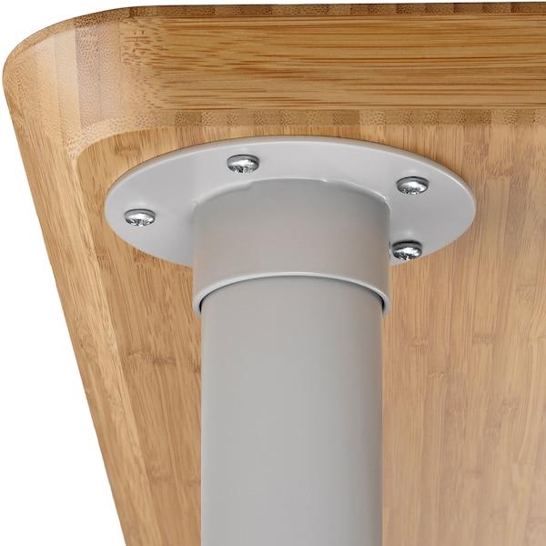 TORSKLINT noha světle šedá 70 cm 5 cm