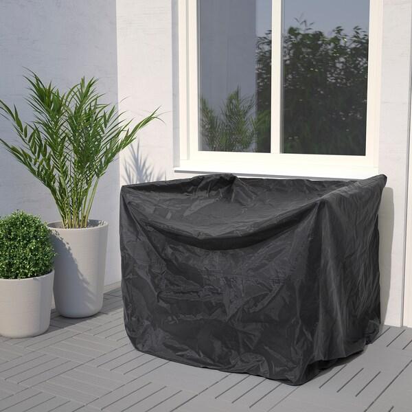 TOSTERÖ Kryt na venkovní nábytek, pohovka/černá, 109x85 cm
