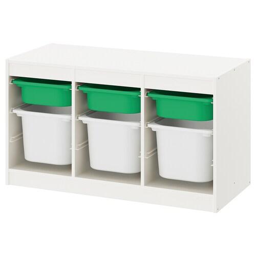 IKEA TROFAST Úlož. kombinace s krabicemi