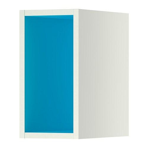 TUTEMO Otevřená skříňka - bílá/sv.modrá, 20x37x40 cm - IKEA