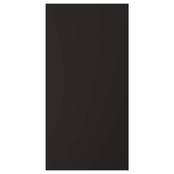 UDDEVALLA Dvířka s povrchem na psaní křídou, antracit, 40x80 cm