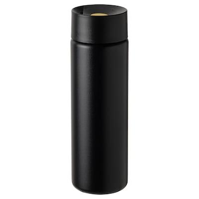 UNDERSÖKA Cestovní termohrnek, černá, 0.4 l