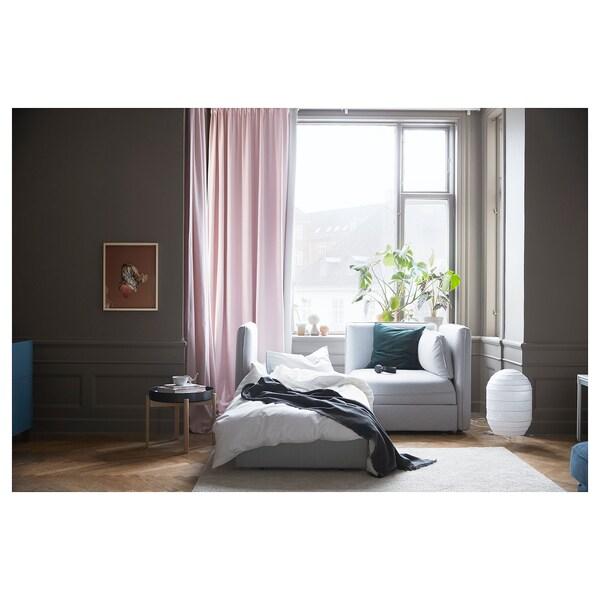 VALLENTUNA 2místná mod. poh. s rozkl. lůžkem a úložný prostor/Orrsta světle šedá 186 cm 113 cm 84 cm 80 cm 100 cm 45 cm 80 cm 200 cm