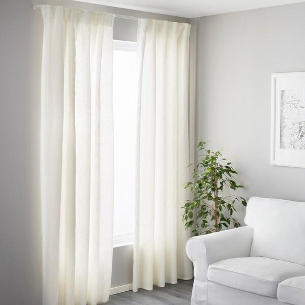 VIDGA Jednoduchá kolejnice, bílá, 140 cm