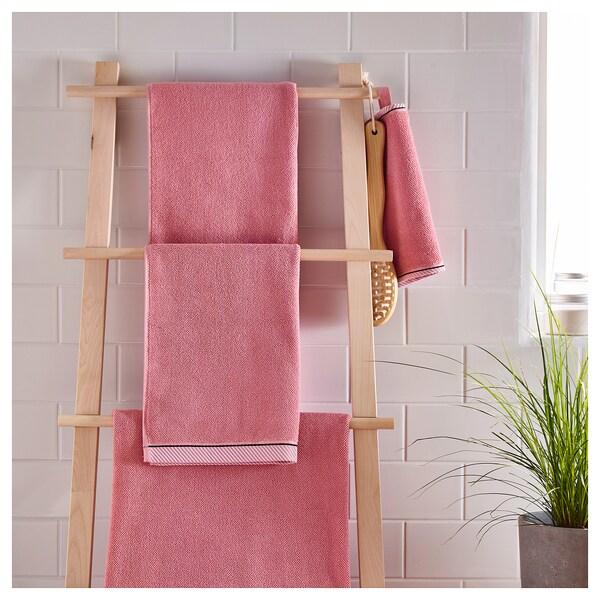 VIKFJÄRD ručník růžová 50 cm 30 cm 0.15 m² 475 g/m²