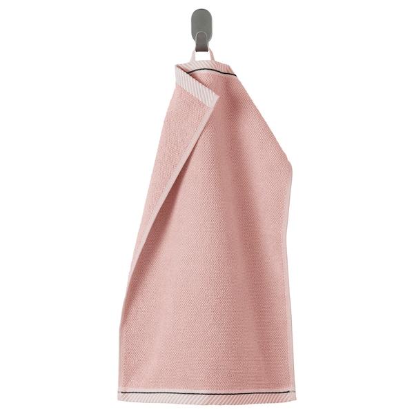 VIKFJÄRD Ručník, světle růžová, 30x50 cm