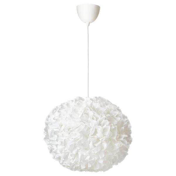 VINDKAST Závěsná lampa, bílá, 50 cm