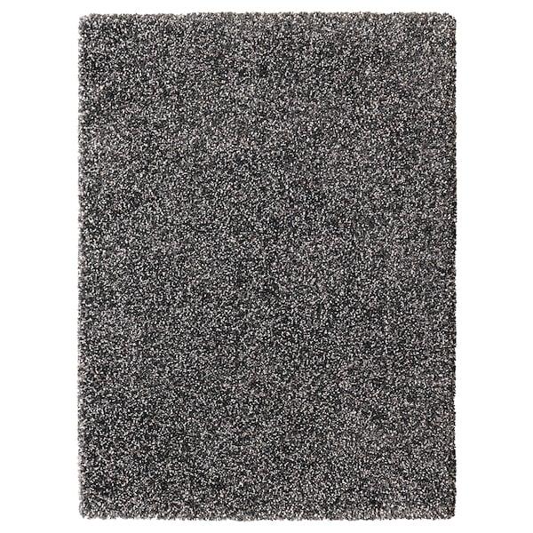 VINDUM koberec, vysoký vlas tmavě šedá 180 cm 133 cm 30 mm 2.39 m² 4180 g/m² 2400 g/m² 26 mm