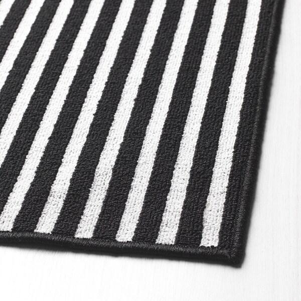 VINSTRUP rohožka černá/šedá 60 cm 40 cm 0.24 m²
