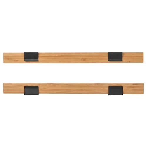 VISBÄCK sada na zavěšení plakátu bambus 40 cm 3 cm