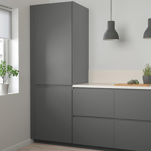 VOXTORP Dveře, tmavě šedá, 40x120 cm