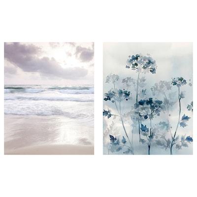 BILD Poster, moving waves, 40x50 cm