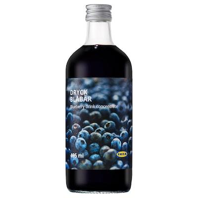 DRYCK BLÅBÄR Blueberry syrup, 495 ml
