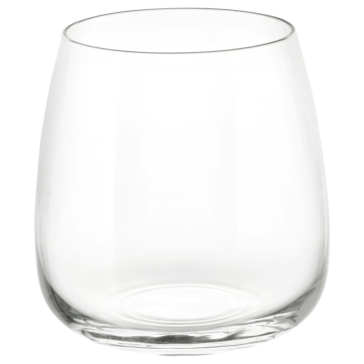 DYRGRIP Glass, clear glass, 36 cl - IKEA