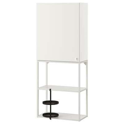 ENHET Wall storage combination, white, 60x32x150 cm