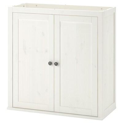 HEMNES Add-on unit for bureau, white stain, 89x90 cm