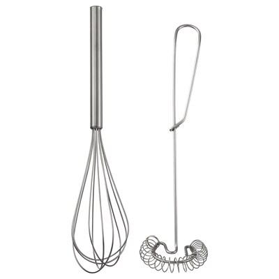 IDEALISK Whisk, set of 2, stainless steel