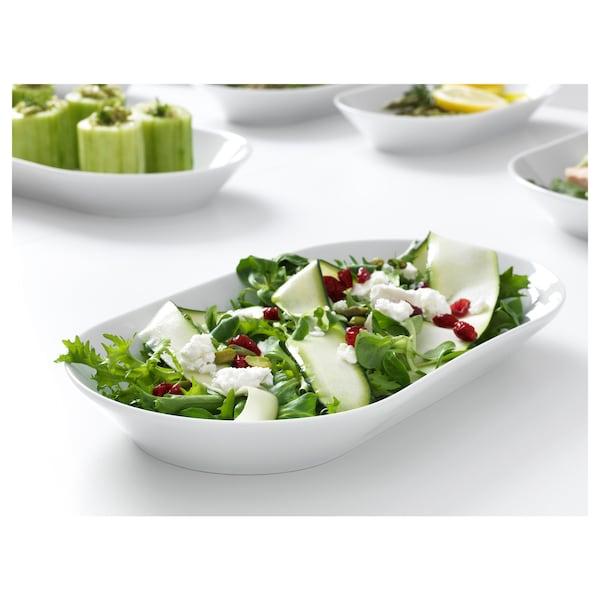 IKEA 365+ Serving plate, white, 31x17 cm