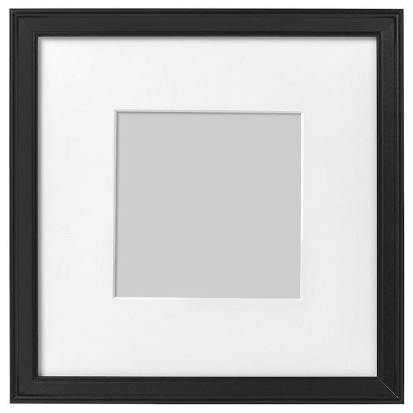 KNOPPÄNG Frame, black, 23x23 cm