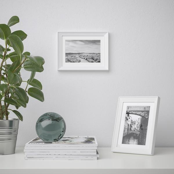 KNOPPÄNG Frame, white, 13x18 cm