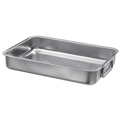 KONCIS Roasting tin, stainless steel, 34x24 cm