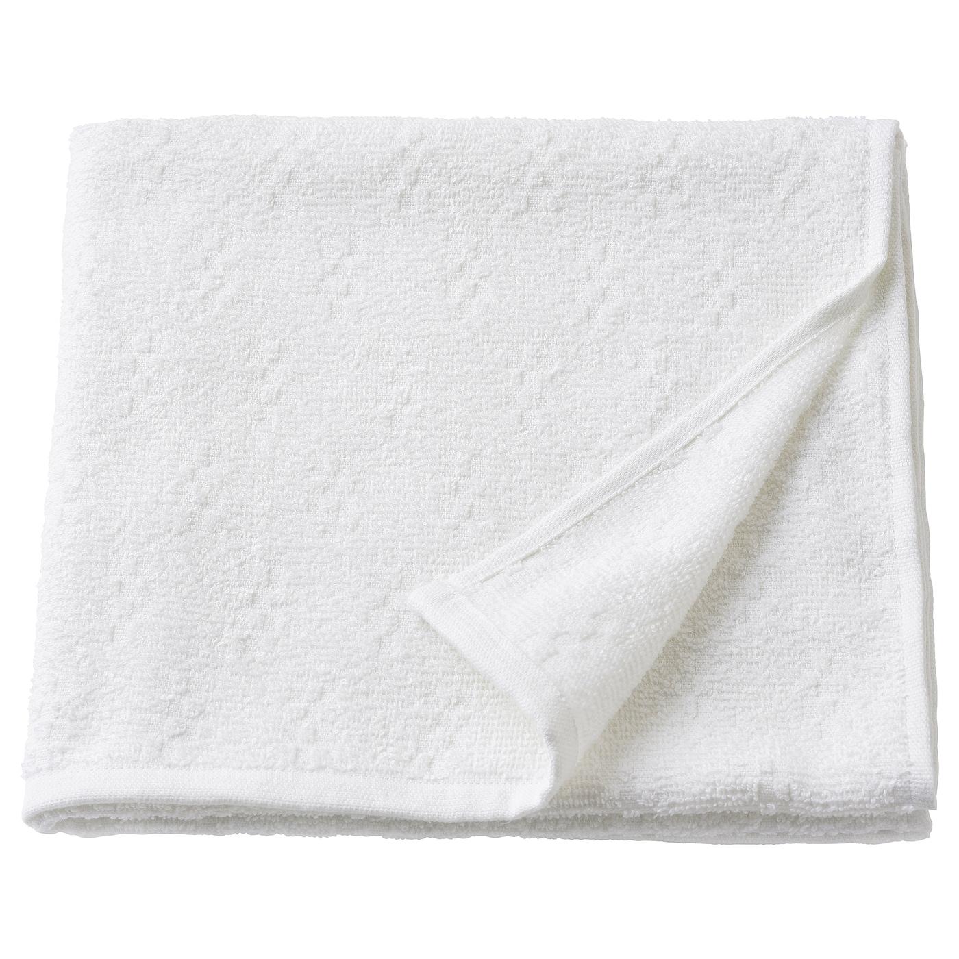 NÄRSEN Bath towel, white, 55x120 cm - IKEA