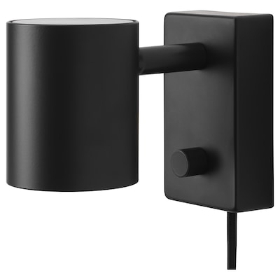 NYMÅNE Wall/reading lamp, anthracite