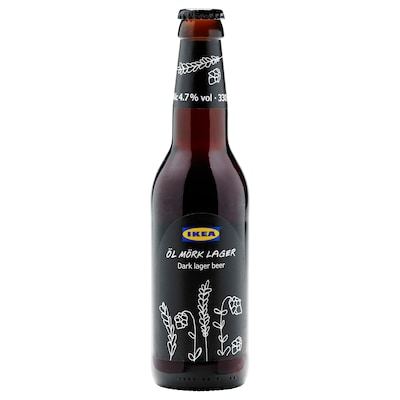 ÖL MÖRK LAGER Dark lager beer 4.7%