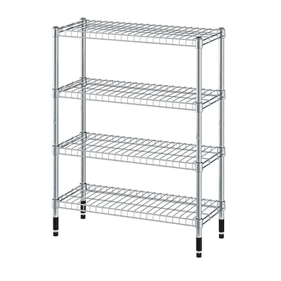 OMAR 2 shelf sections, 60x25x77 cm