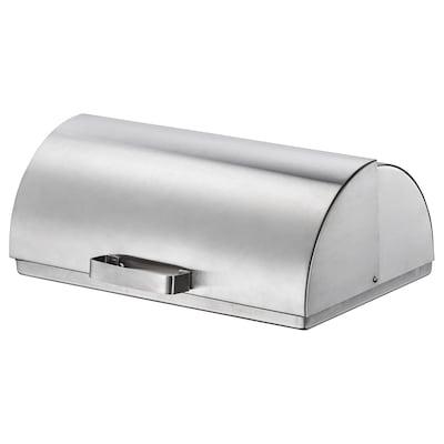 ORDNING Bread bin, stainless steel
