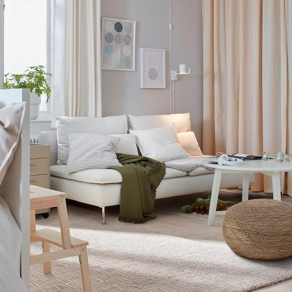 SÖDERHAMN 3-seat section, Finnsta white