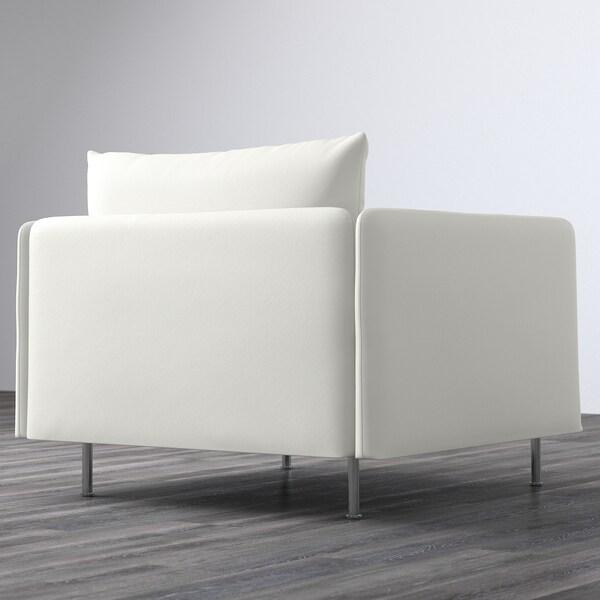 SÖDERHAMN Armchair, Finnsta white