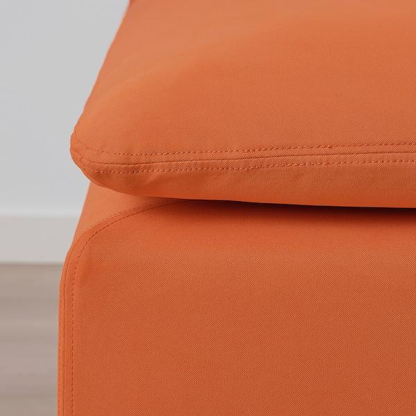 SÖDERHAMN Chaise longue, Samsta orange