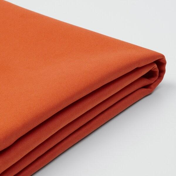 SÖDERHAMN Footstool cover, Samsta orange