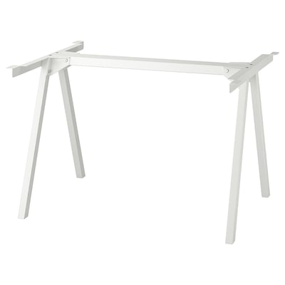 TROTTEN Underframe for table top, white, 120x70x75 cm