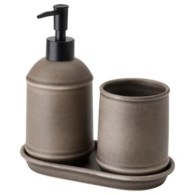 TVÅLSJÖN 3-piece bathroom set