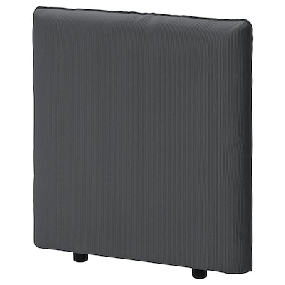 VALLENTUNA Backrest, Kelinge anthracite, 80x80 cm