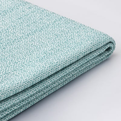 VALLENTUNA Cover for back cushion, Hillared light blue